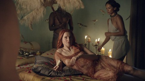 Woman luv Spartacus blood and sand sex clip birthday